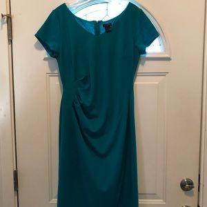 Green Ann Taylor dress Size 10